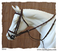 Flash bridle for model horses made by Jana Skybova